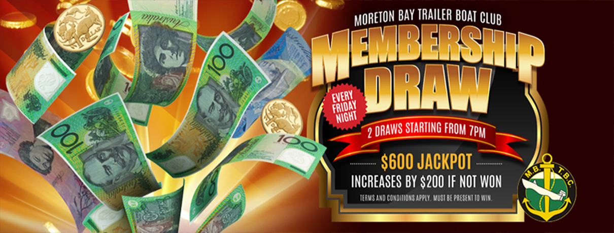 Membership Draw - MBTBC - Manly, Brisbane