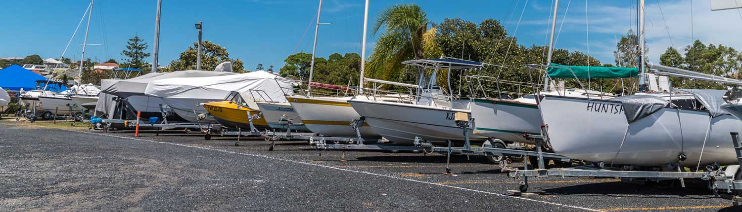 Hardstands - Moreton Bay Trailor Boat Club